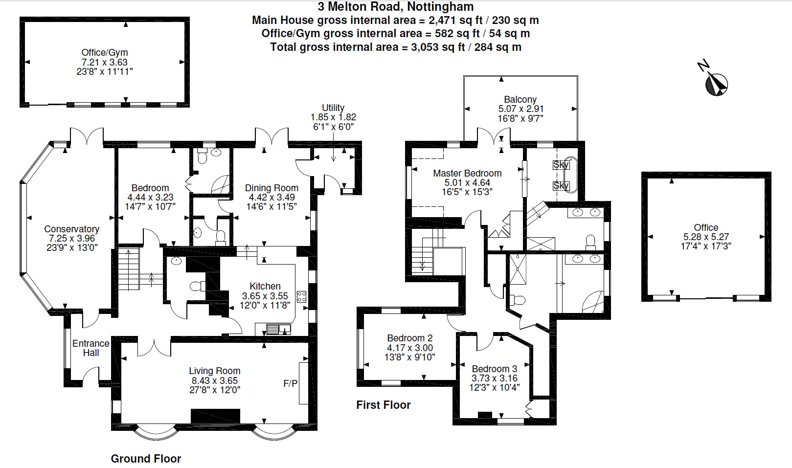 4 Bedroom Detached House For Sale In Stanton On The Wolds