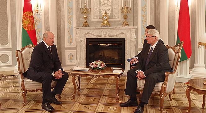 Spotkanie min. Waszczykowskiego i prezydenta Łukaszenki