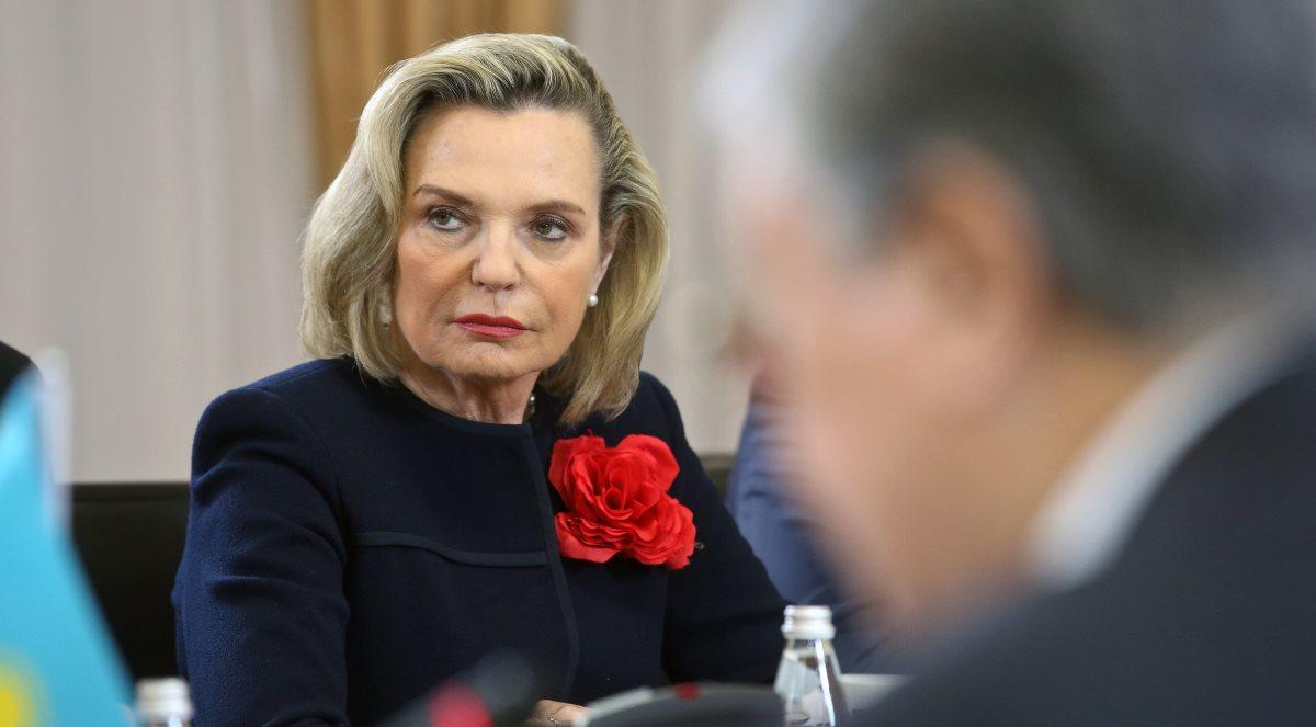 Córka generała Andersa, Anna Maria była obecna na otwarciu wystawy w Suwałkach