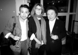Chikashi Suzuki,Bettina RheimsandKishin Shinoyamaat Deauville Photo Festival, Normandy. Photo Chikashi Suzuki