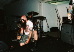 A night with black metal band Harassor, Los Angeles