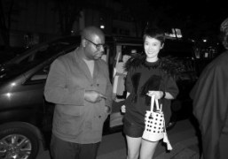 Steve McQueen and Rinko Kikuchiarriving at the opening of the McQueen's new…