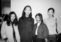 Sakura Ando, Alexander Wang, Yasuko Furuta, and Yuuki at Balenciaga Omotesando opening…