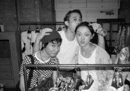 Junsuke Yamasaki, Chikashi Suzuki, and Rila Fukushima at Toga, Harajuku. Photo Chikashi…