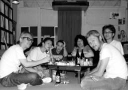 Yasuko Furuta, Chikashi Suzuki, Shintaro Sakamoto, Tomoo Gokita and friends at TomooGokita's…