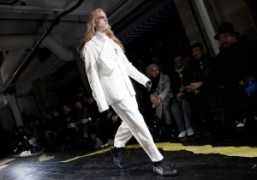 Yohji Yamamoto Men's F/W 2015 show, Paris