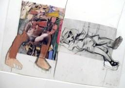 DE KOONING BY RICHARD PRINCE at the gagosian gallery, paris