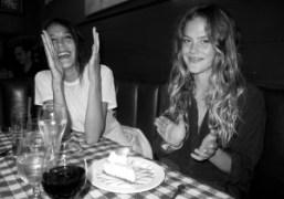 Chelsea Schuchmanand the French film director Juju Sorelli celebrating Chelsea's 23rd Birthday…