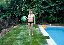 Dora Yoder at Villa Le Reveas work on its contruction continues, Bel…