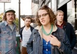 American rock band Sallie Ford & The Sound Outsidein Portland, Oregon. Photo…