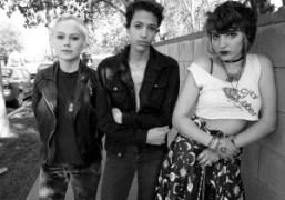 Teenage all-girl band Sloppy Jane in the San Fernando valley, Los Angeles….