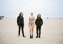The New York bandSunflower Bean on Venice Beach, Los Angeles. Photo Brad…