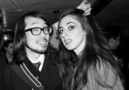 PhotographerDave Tadaand Yasmine Kittleat the Miyako Hotel,for Dave's birthday party, Los Angeles….