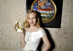 Charlotte Olympia at her dinner to celebrate her latest F/W 2015 collection…