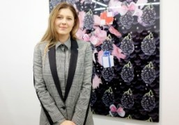 """Petra Cortright """"ily"""" Exhibition at Foxy Production, New York"""