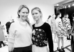 Dawnand Samantha Goldwormat theCalla New York Fashion WeekF/W 2014 presentation, New York.Photo…