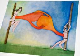 YIN & YANG/YIN BY ALEJANDRO JODOROWSKY AND PASCALE MONTANDON at gallery lipao-huang,...