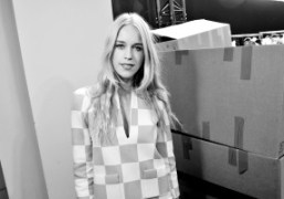 Mary Charteris at the Louis Vuitton men's F/W 2013 show at the…