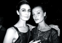 90's Supermodels Erin O'Connor and Aurelie Claudel at Stefano Tonchi's party in…