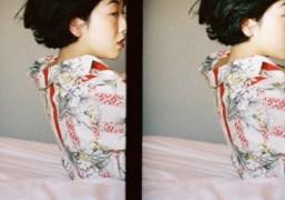 A portrait of actress Sakura Andoin Tokyo. Photo Chikashi Suzuki