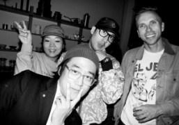 Hideout Party featuring emerging artists at The Good Liver Store, Los Angeles