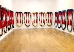 """Sterling Ruby's """"EXHM"""" exhibition at Hauser & Wirth, London"""