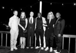 Spike Jonze,Diana Picasso,Klaus Biesenbach, Larry Ossei-Mensah, Korakrit Arunanondchai, and Armani Olu at…