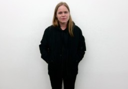 Hanna Liden at the opening of her show Hanna Liden: Ghost Town…