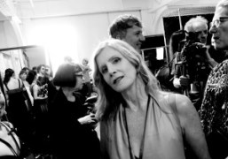 Backstage at the VPL Show, New York