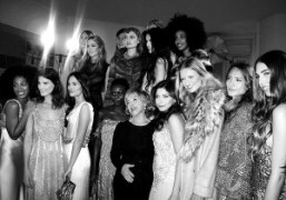 Alberta Ferretti and all the lovely girls who walked in her pre-fall…