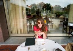 Natacha Ramsay-Levi at the Ritz, Lisbon. Photo Olivier Zahm