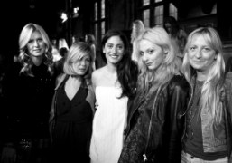 Nicky Hilton,Tara Subkoff, Arden Wohl, Cory Kennedy and Chrissie Miller at the…