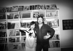 Gallerist and booksellerJonathan Brown, owner ofLeadapronandYan Yan, Los Angeles. Photo Olivier Zahm