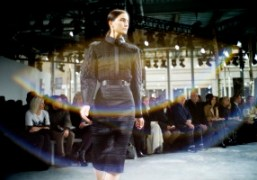 One look from theHugo Boss New York Fashion WeekF/W 2014 show, New...