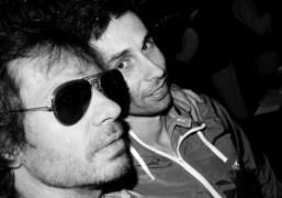 Olivier Zahm and Gildas Loaëc of Kitsuné at the Cafe de Flore,…