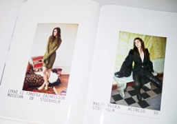 Preview of portraits by Ola Rindal in Purple Fashion #22 out now