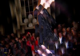 Tommy Hilfiger Women's F/W 2013 Show at the Park Avenue Armory, New...