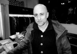 Steven Alanat his showroom party.87 Franklin St, New York.Photo Elise Gallant