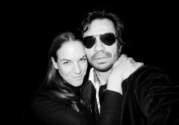 Shirley Cook and Olivier Zahmafter the Proenza Schouler F/W 2013 show,New York….