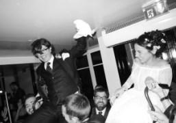 Cleo-Le Tan and Alex Detrick's wedding party at Hotel Amour, Paris