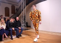 J.W Anderson Men's F/W 2014 show, at Yeomanry House, London