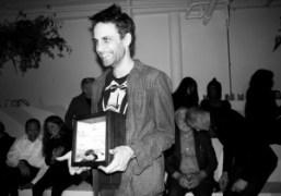 Presentation of the Malcolm McLaren Award to Ryan McNamara at the Performa...