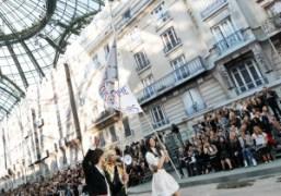 Chanel S/S 2015 show at the Grand Palais, Paris