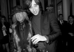 Jim Goldstein and Daniele Cavalli at the Hotel Principe di Savoia, Milan….