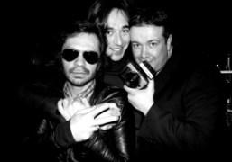 Olivier Zahm, Daniele Cavalli, and Stephane Feugère at the Hotel Principe di…