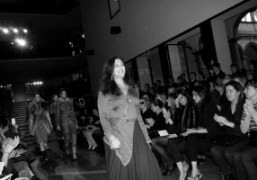 Angela Missoni at the finale of the Missoni F/W 2012 show, Milan….