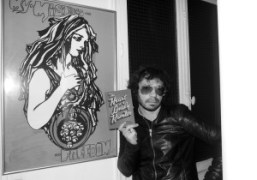 Olivier Zahm holding an Olympia Le Tan minaudière bag of the bookThe…