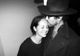 Mark Borthwick and wife Maria Cornejoat their home, New York. Photo Olivier…