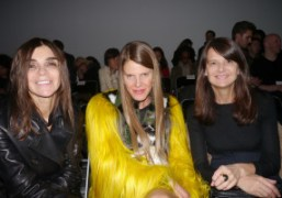 Carine Roitfeld, Anna Dello Russo, and Marie Amélie Sauvé, the three most…