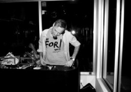 Our favoritePaul Sevigny DJ'ing at the Armani Jeans Art Basel party, Miami….
